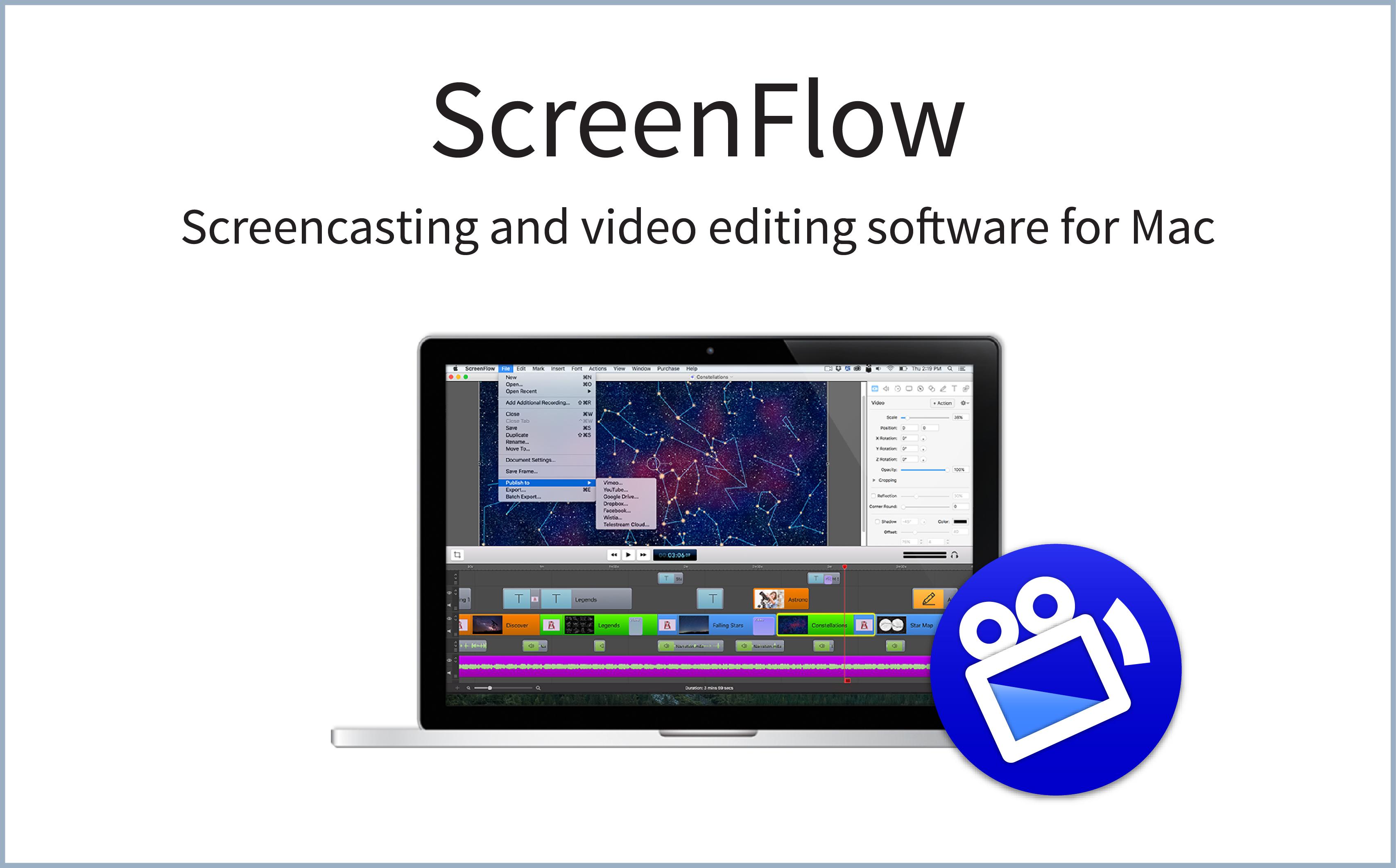 Buy Telestream ScreenFlow 4 Cheap