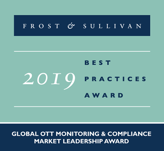 Frost & Sullivan Best Practices Award 2019
