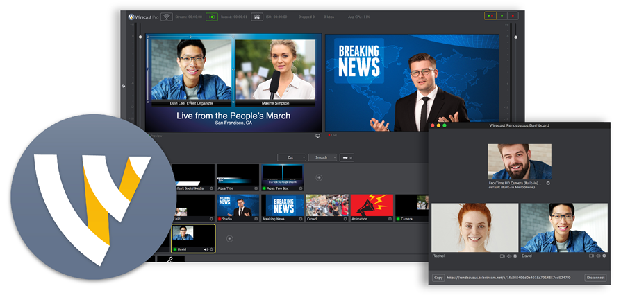 Live Video Streaming Production Software