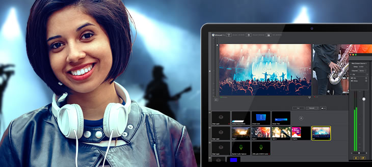 Live video streaming production software | Telestream Wirecast
