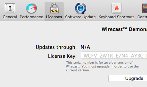 free wirecast license key for mac