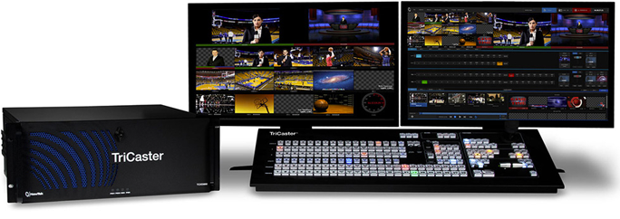TriCaster Playout Controller