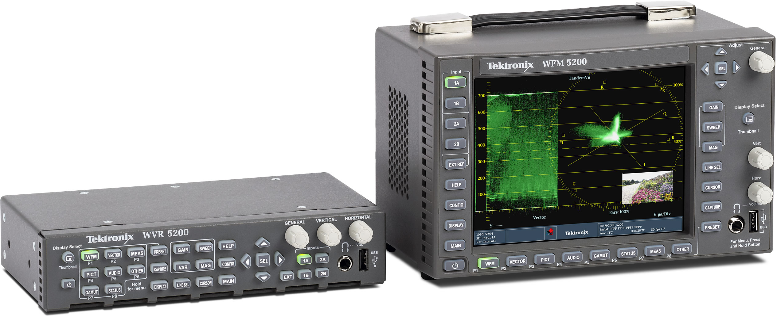 Video Test and Monitoring Equipment, Waveform Monitors