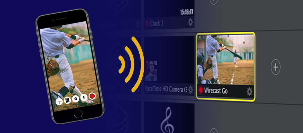 Wirecast Go mobile live video streaming app