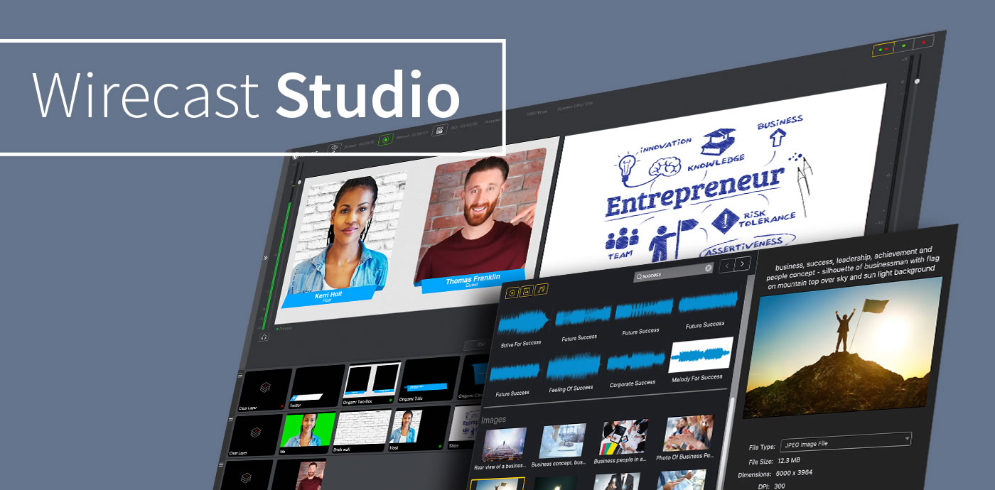 Compare Wirecast Studio vs. Wirecast Pro - Features, Pricing | Wirecast